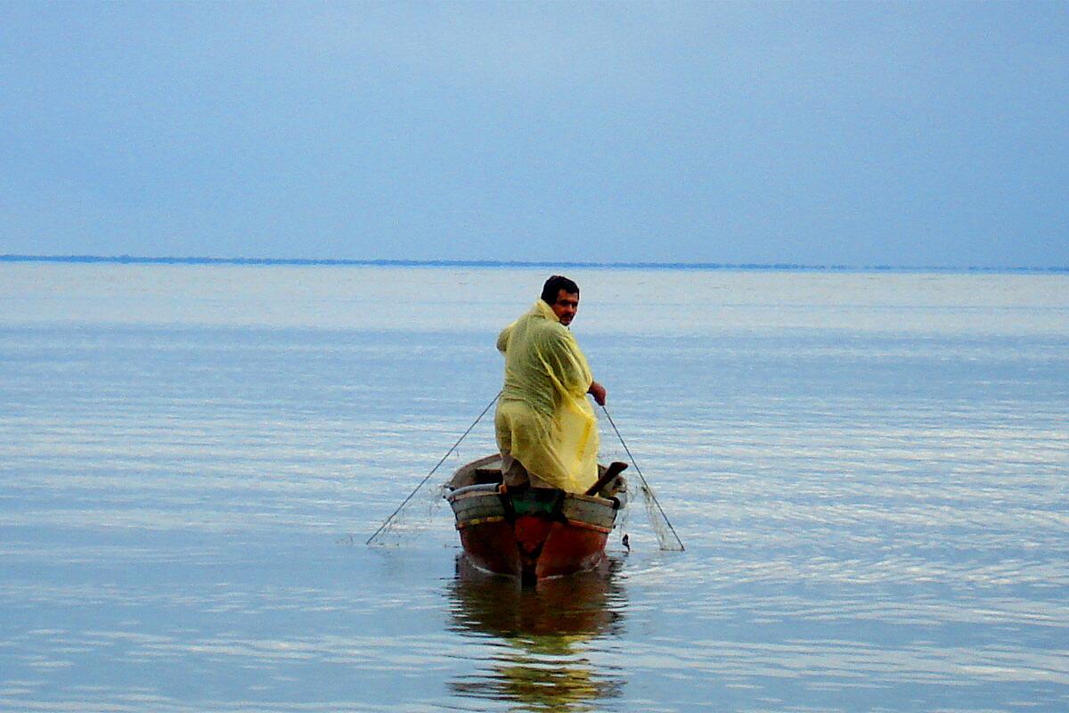 Honduran fisherman