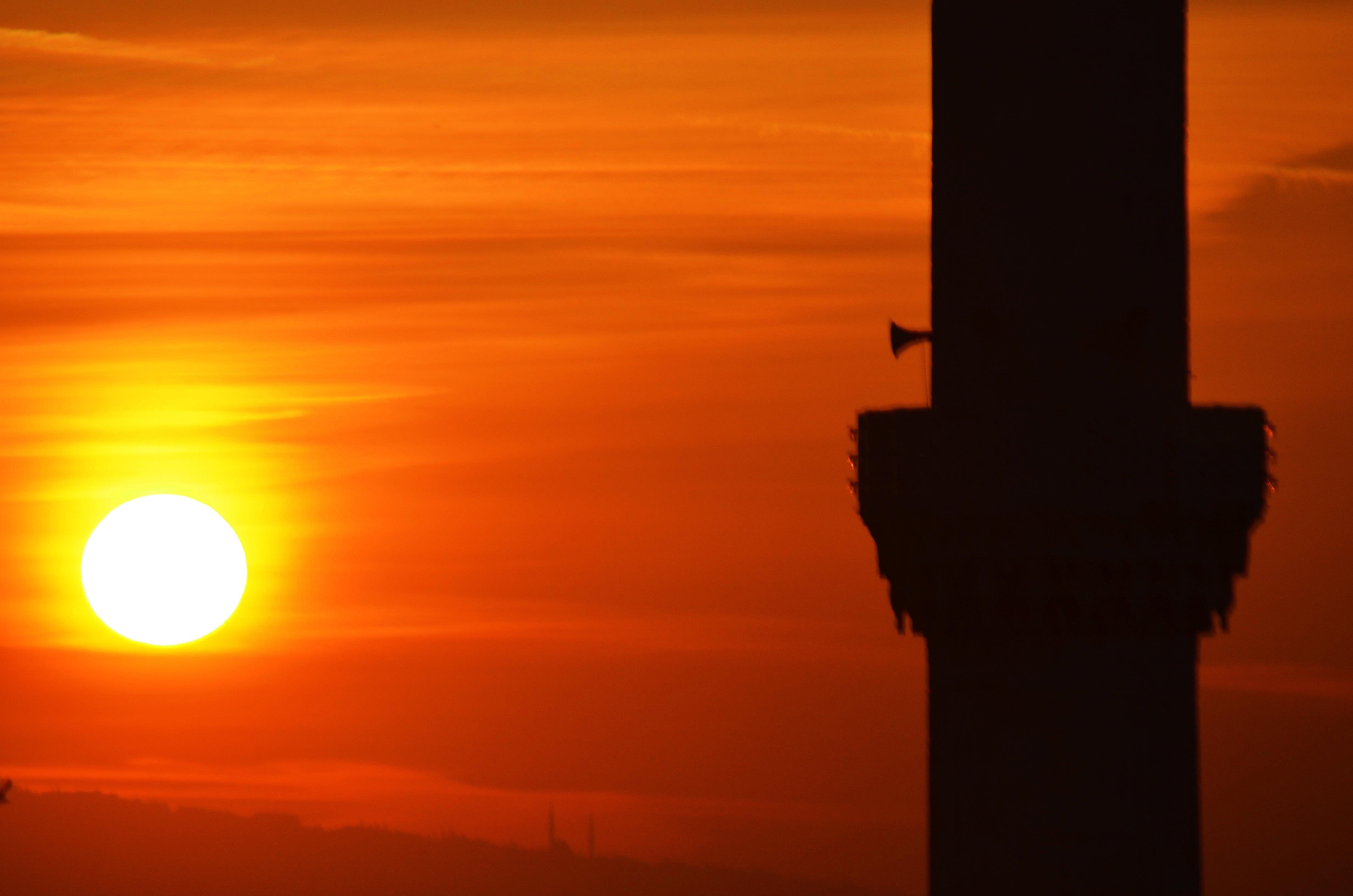 Minaret sunrise